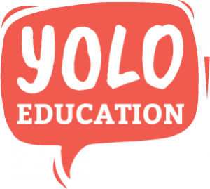YOLO Education Logo Dark